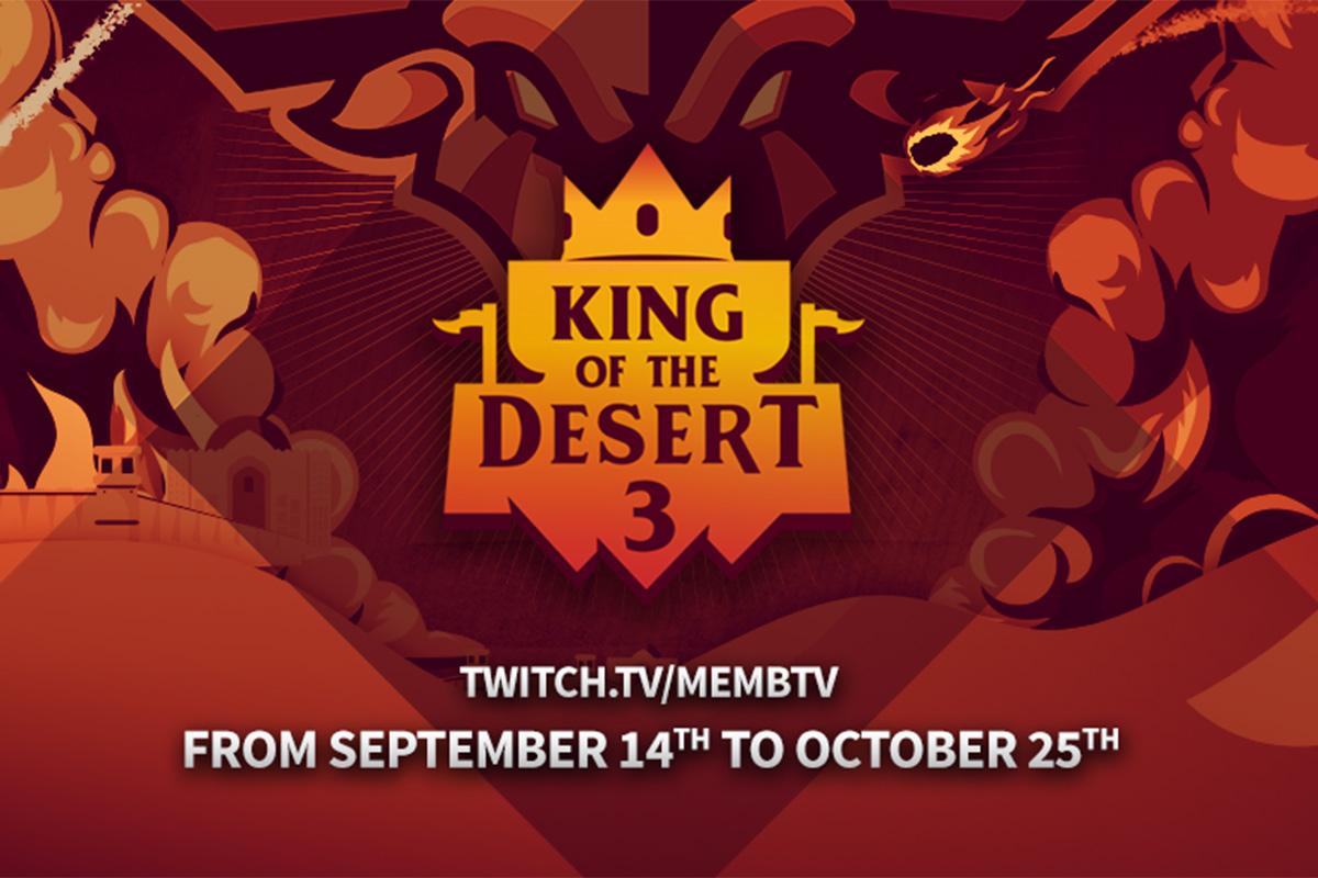 Algas Age of Empires 2 DE 50 000 dollarise auhinnafondiga turniir King of the Desert 3