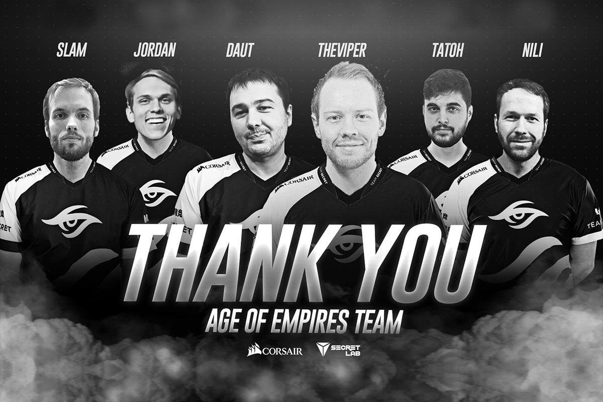 Team Secret ja nende Age of Empires 2 tiimi teed läksid lahku