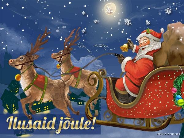Ekaart: Jõulud