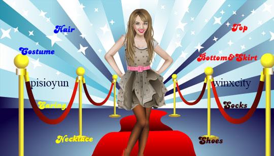 Miley Cyrus Doll Dressup