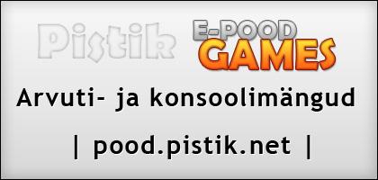 Pistik.net Games e-pood