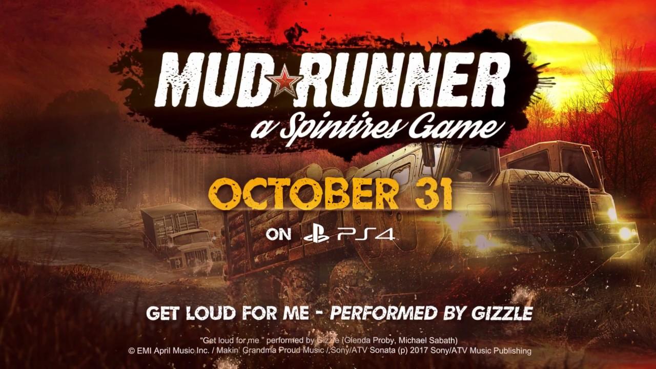 Spintires: MudRunner trailer