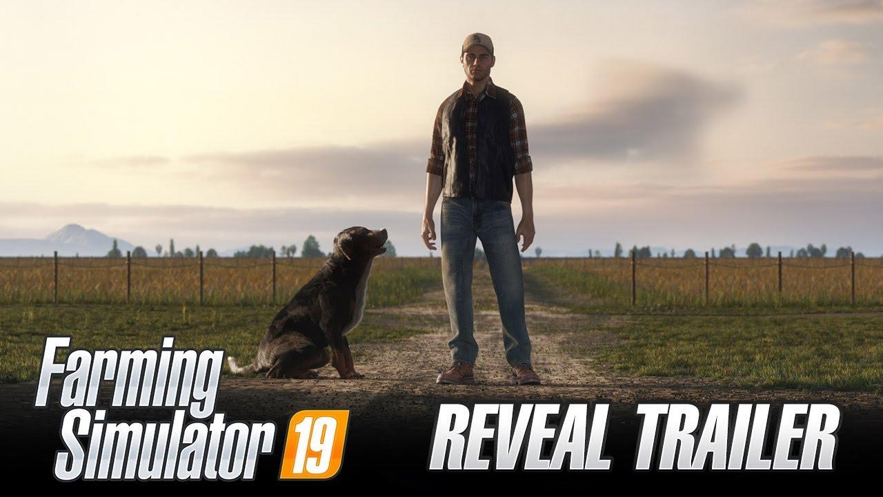 Farming Simulator 19  avalikustamise trailer