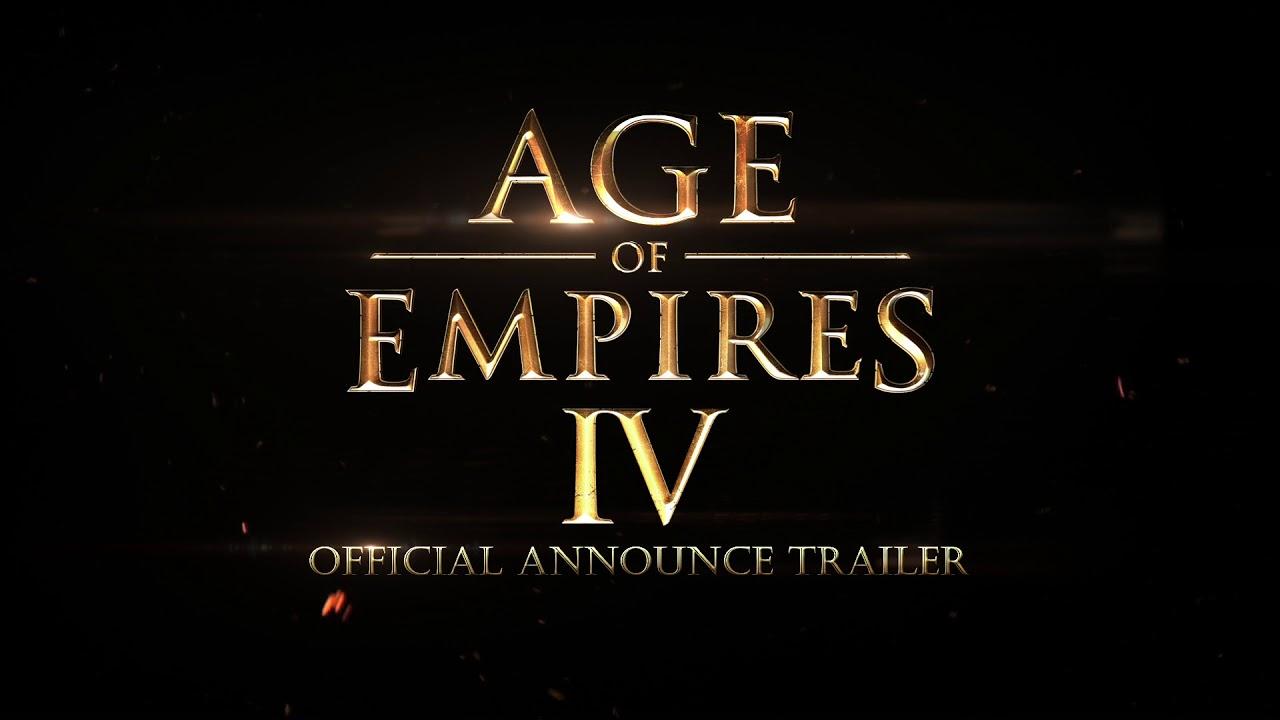 Age of Empires IV väljakuulutamine