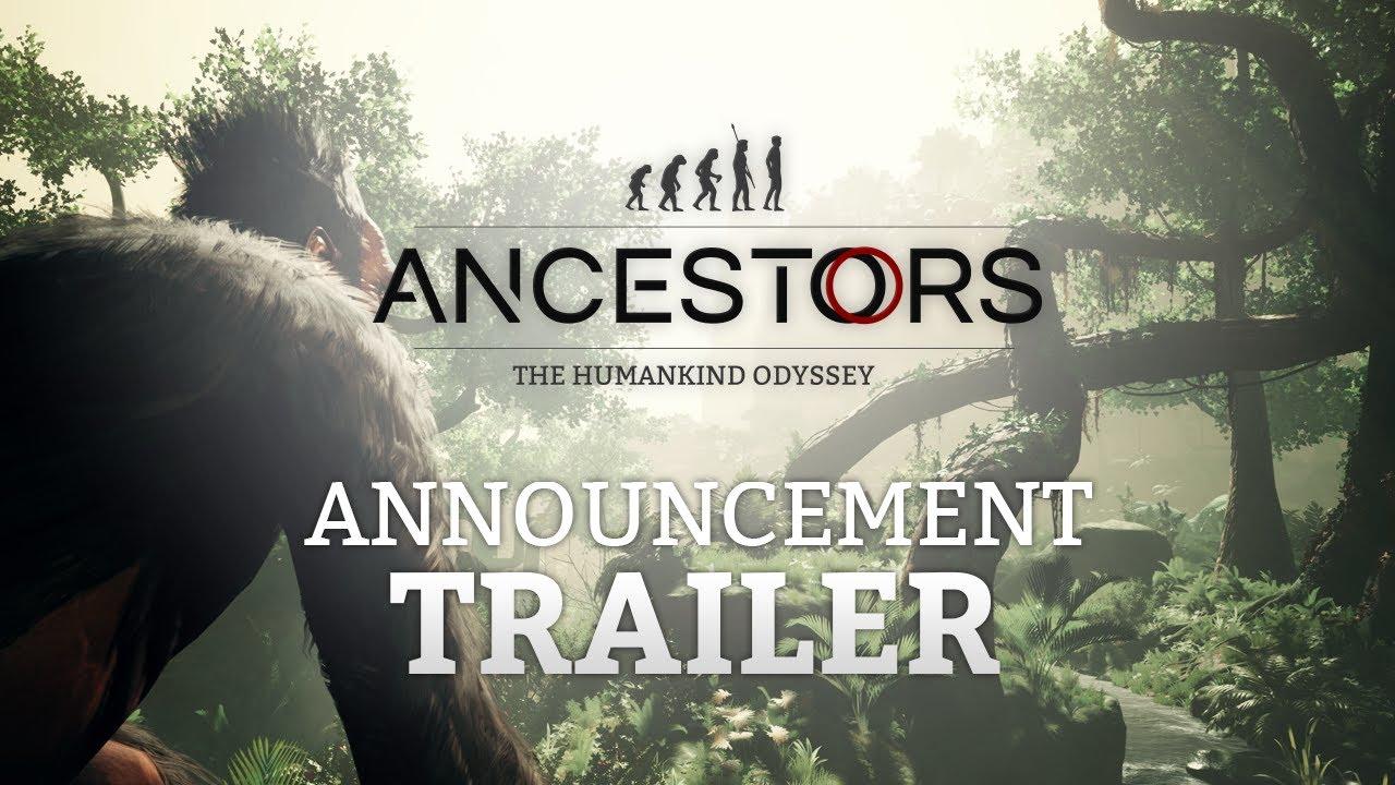 Ancestors: The Humankind Odyssey väljakuulutamise trailer