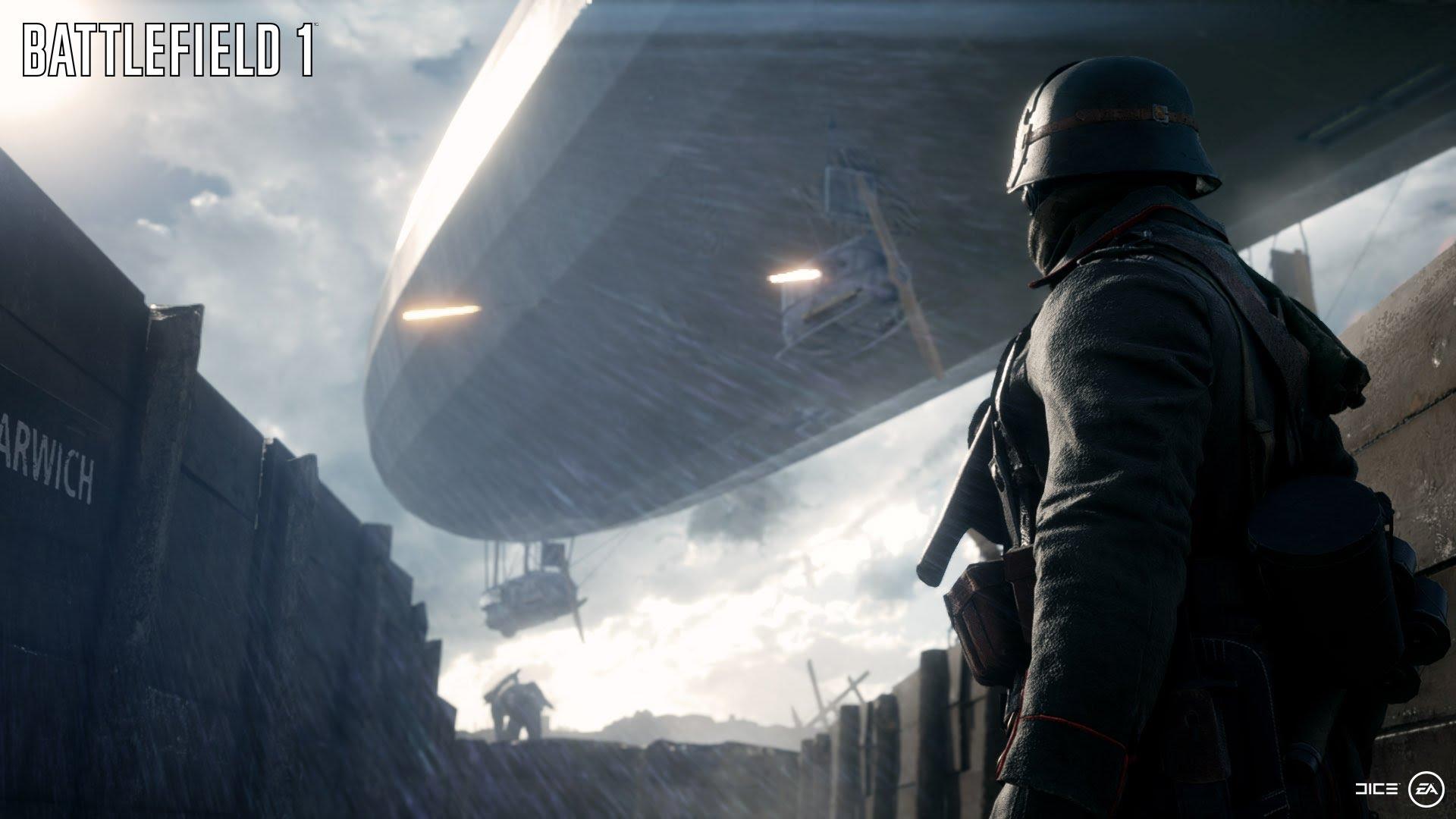 Battlefield 1 väljastus trailer