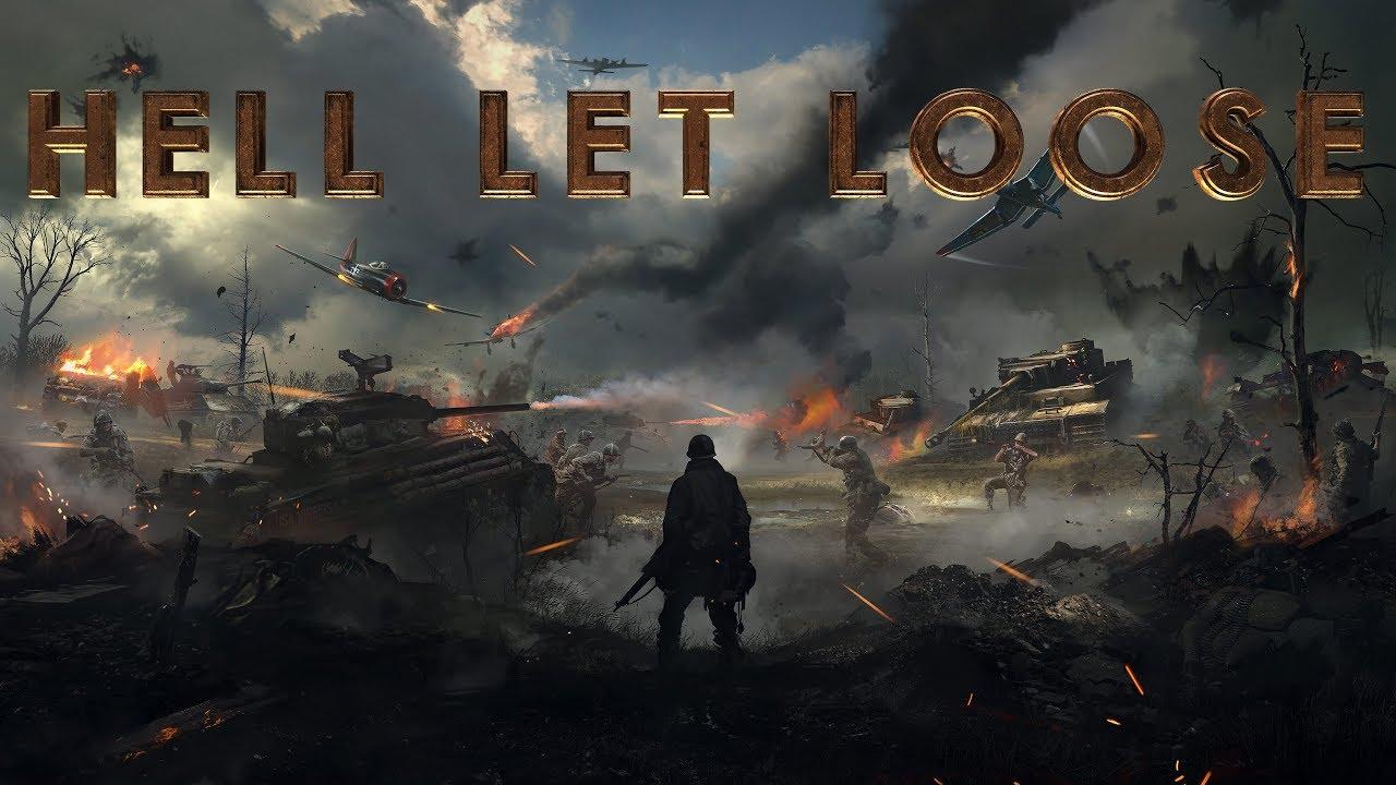 Hell Let Loose esimene mänguvideo