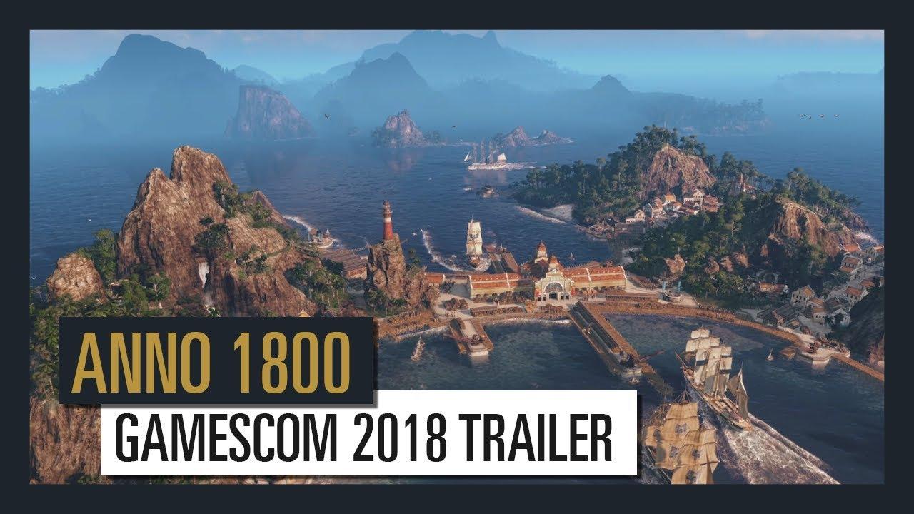 Anno 1800 trailer