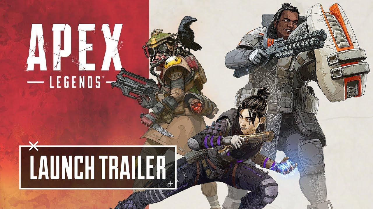 Apex Legends ametlik väljastustrailer