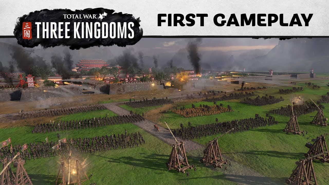 Total War: Three Kingdoms esimene mänguvaade (E3 2018)