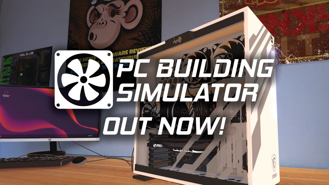 PC Building Simulator trailer