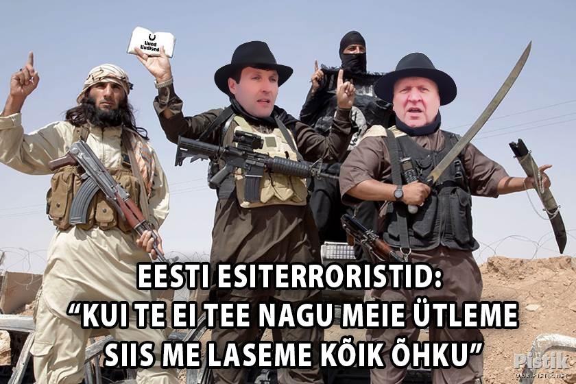 Eesti esiterroristid