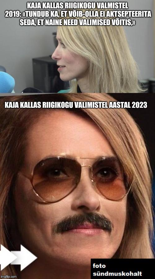 Kaja Kallas riigikogu valimistel 2019