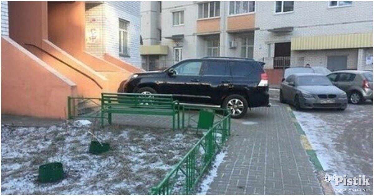 Mis sa arvad neist otse treppi parkijatest?