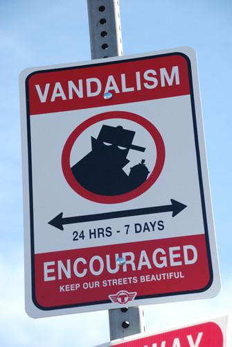 Vandalismile