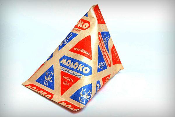 Nõukogude aegsed piimapakid ja piimapudelid