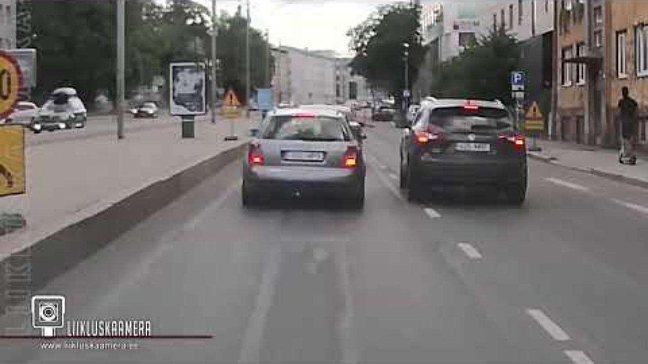 Naljamehed Tallinna liikluses