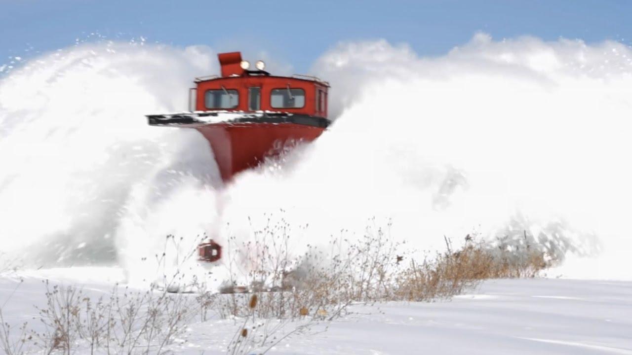 Oled mõelnud kuidas raudteelt lumi ära koristatakse?