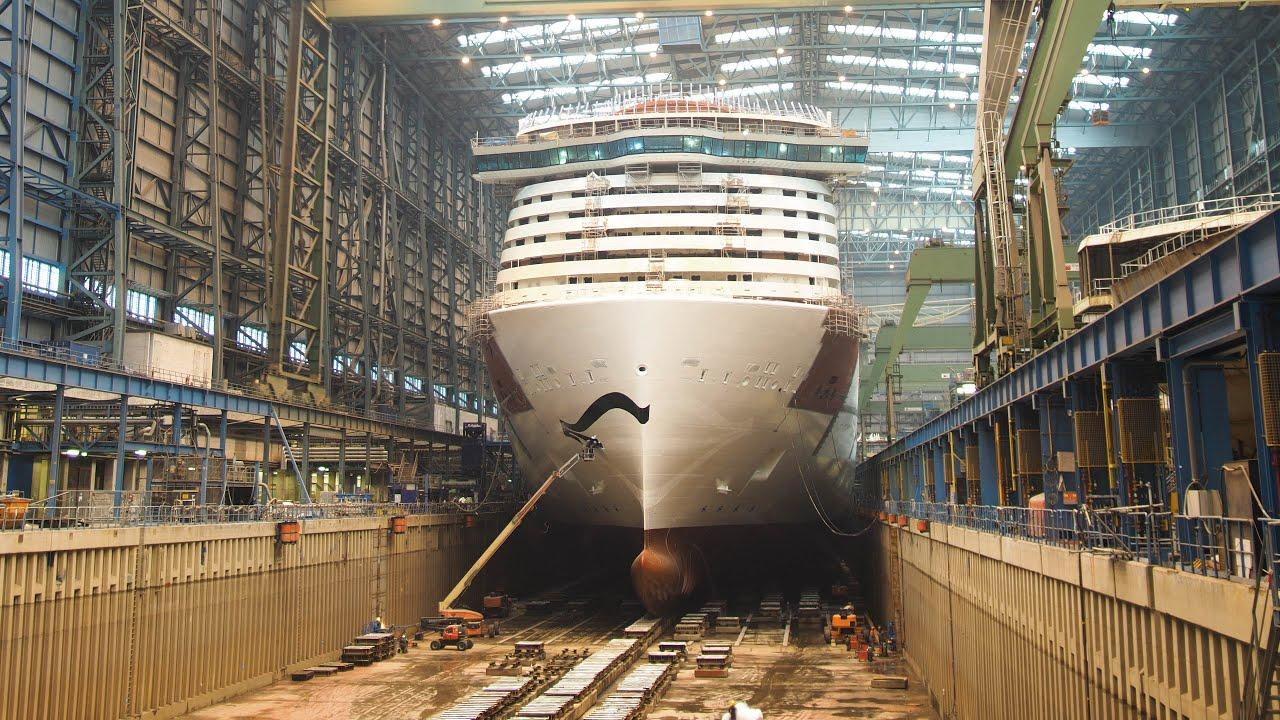 7-minutiline kiirvideo sellest kuidas suur kruiisilaev valmib