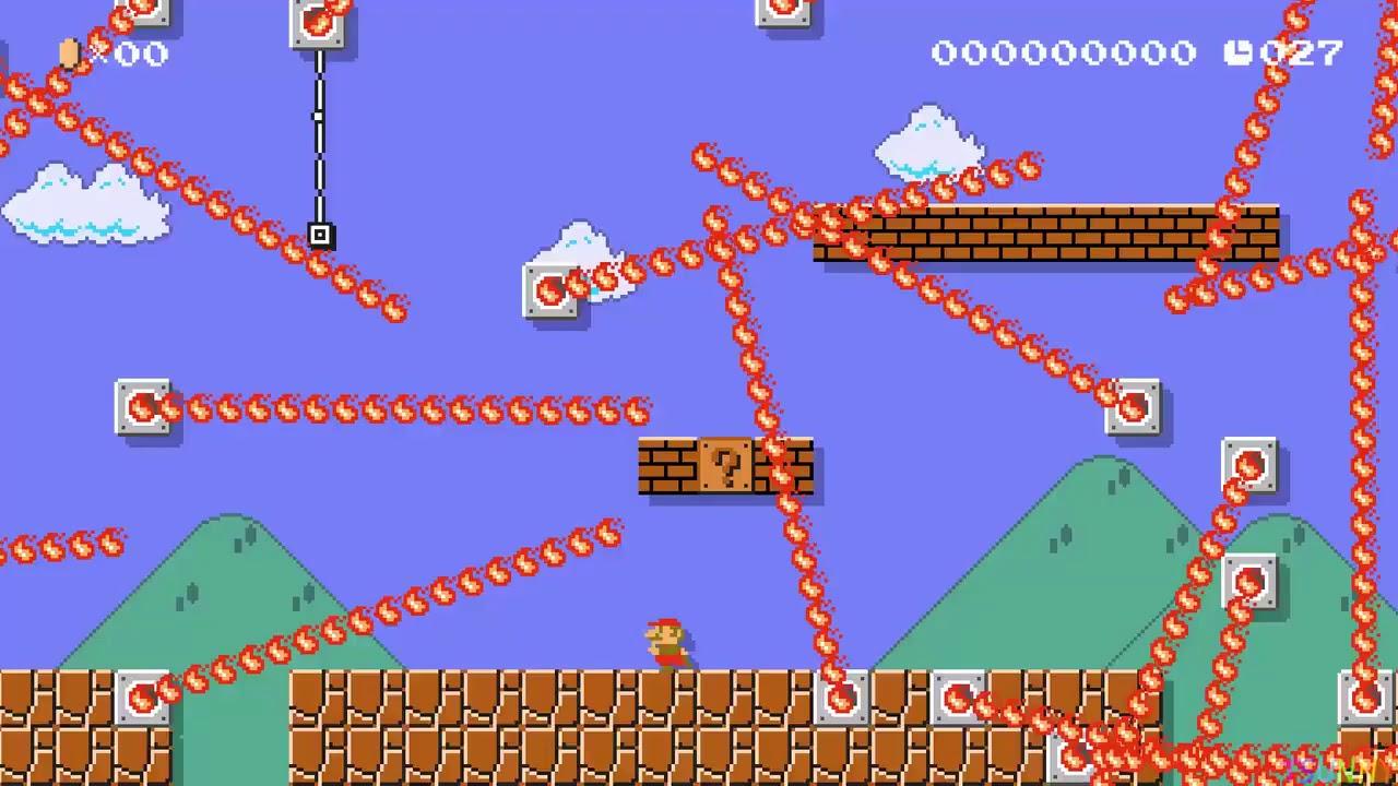 Super Mario videomängu ekstreemselt raske tase