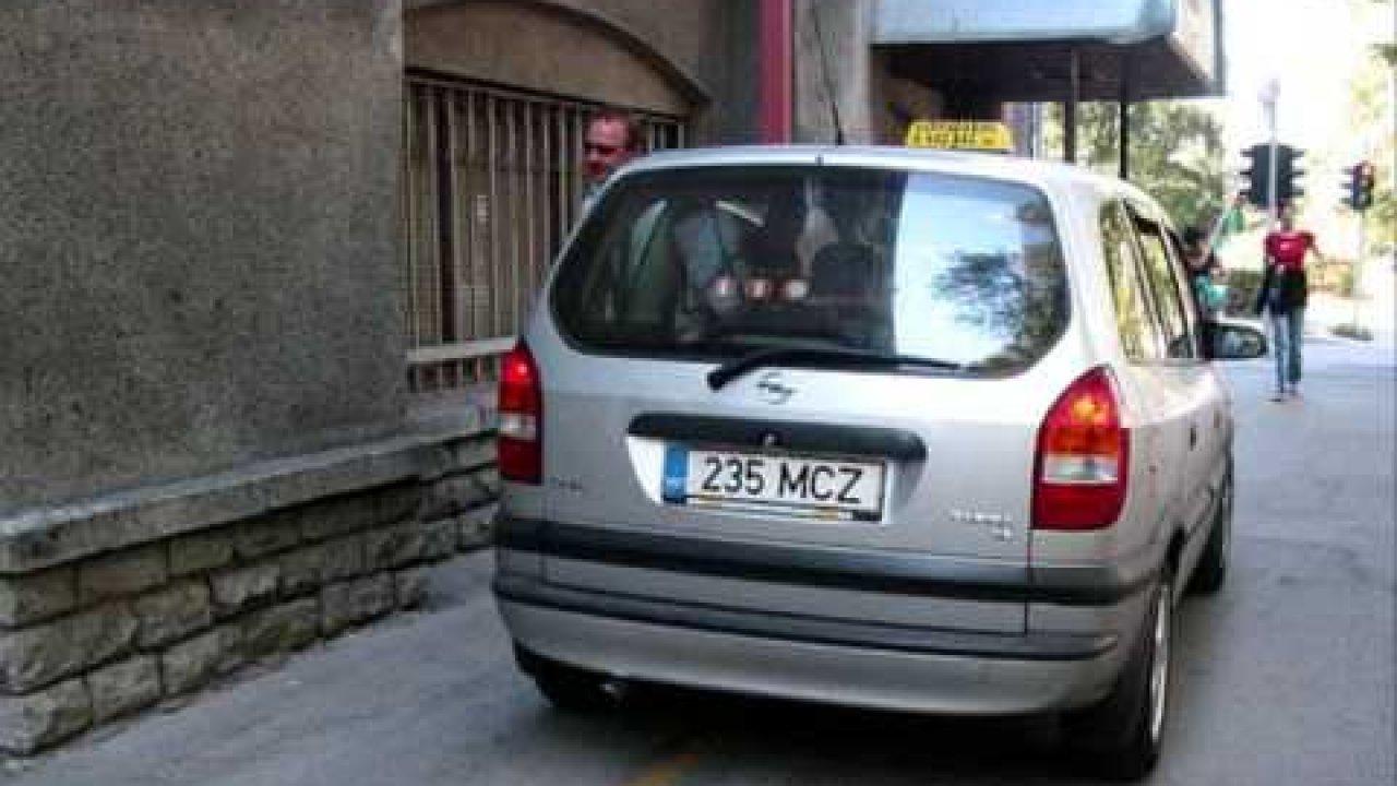 Kõne Edu taksosse - pangaröövel tellib taksot