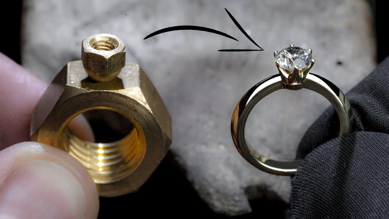 Kuidas kahest mutrist teemantsõrmus tehakse