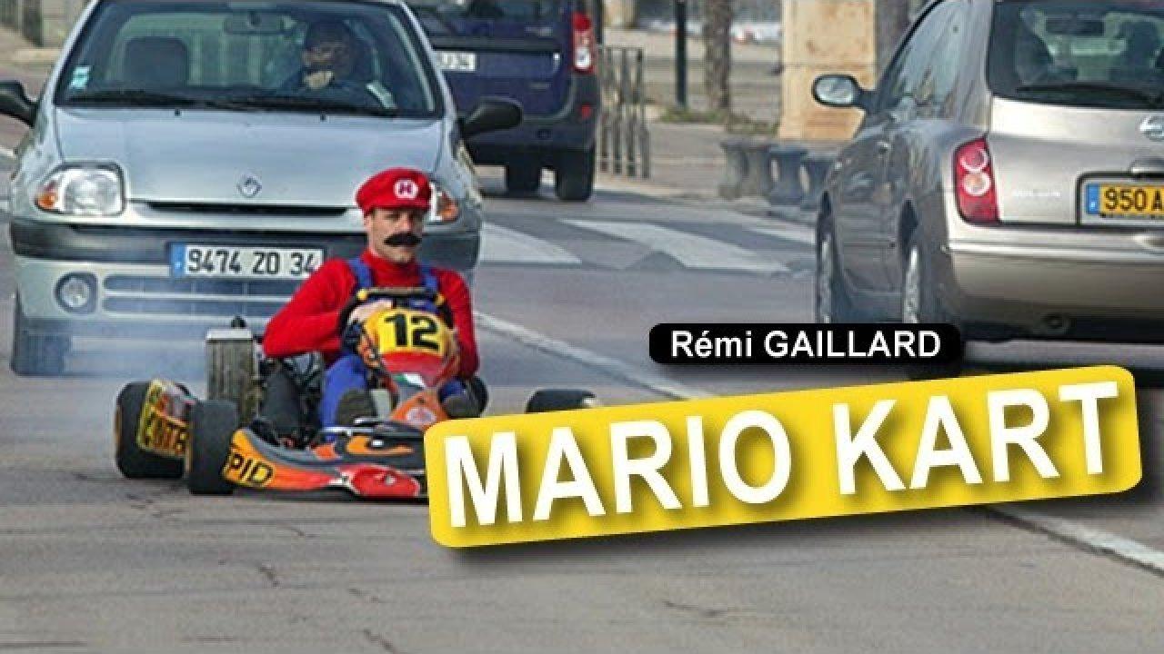 Super Mario Kart - Remi Gaillard