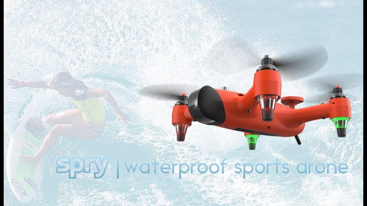 Nüüd ka veekindlad sukelduvad droonid