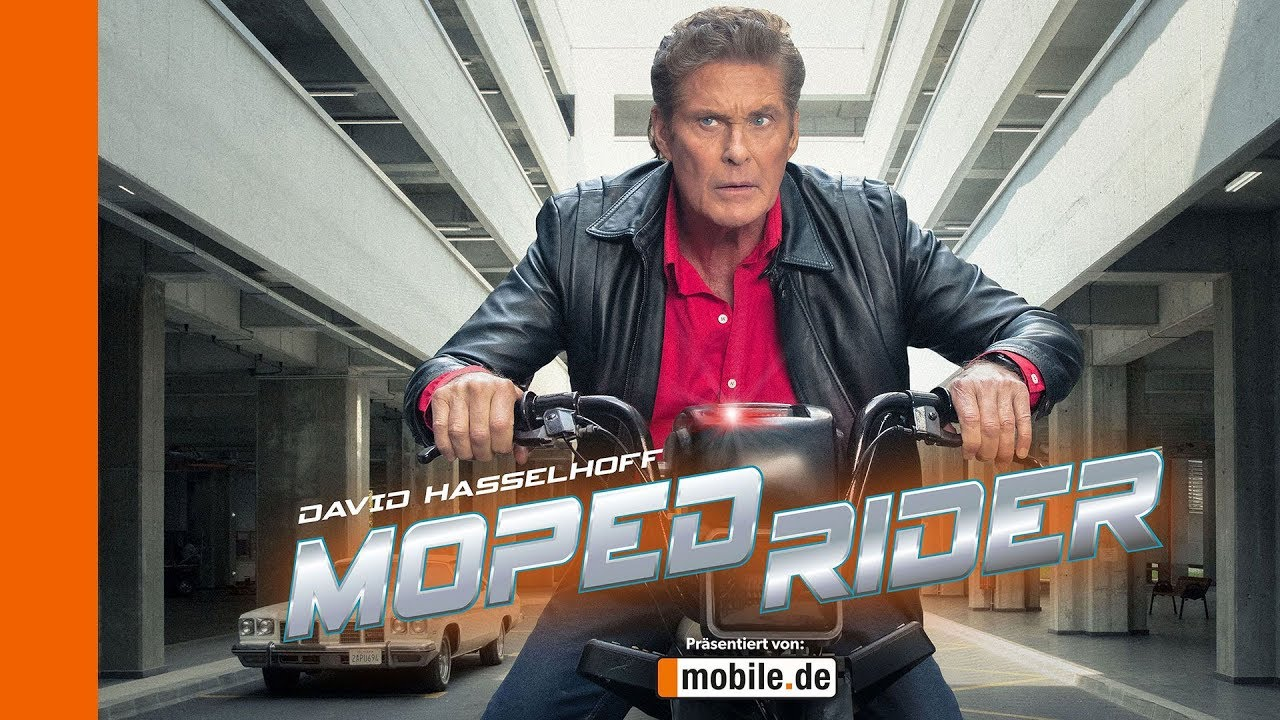 David Hasselhoff vahetas oma Kitti mopeedi vastu!
