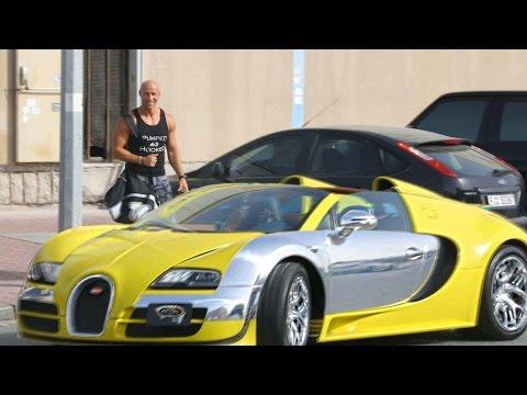 Bugattiga Uberit sõitma