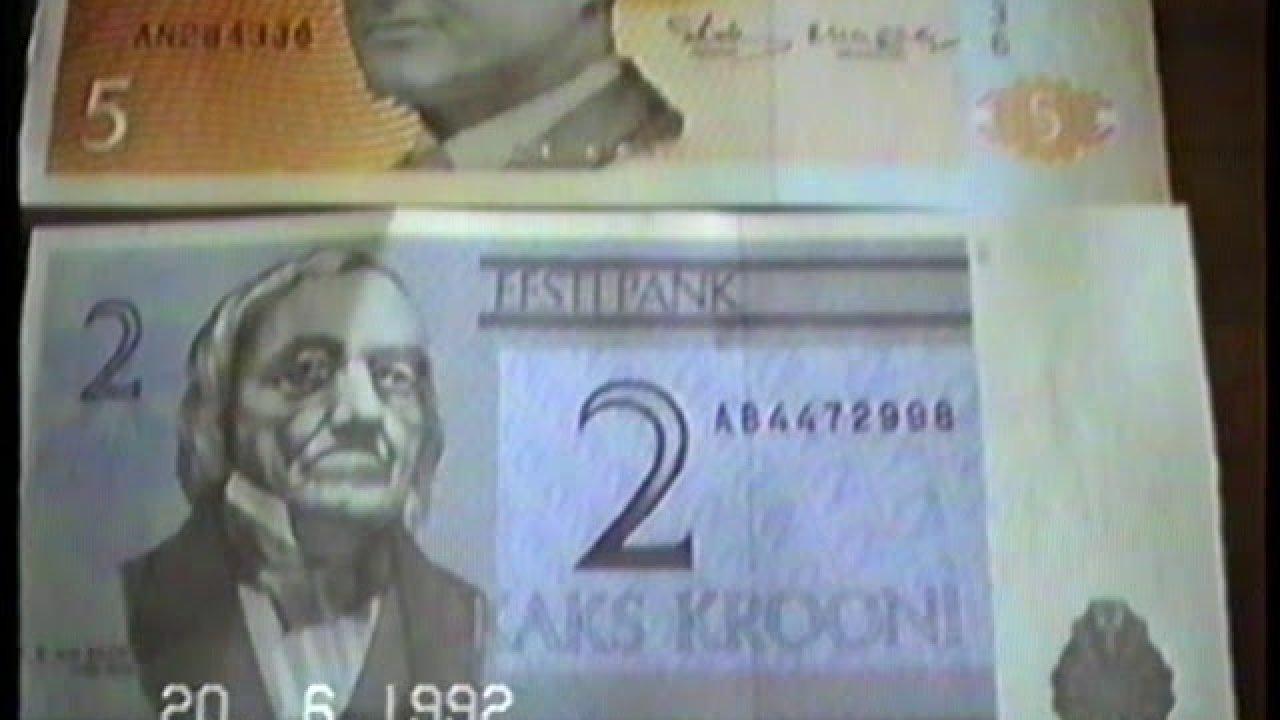 Vaata kuidas elati aastal 1992 - siis kui rublasid kroonideks vahetati