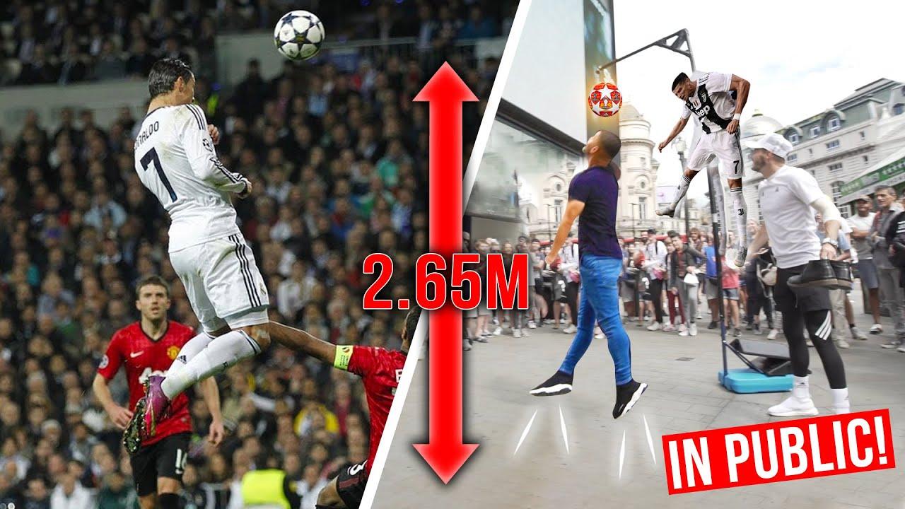 Inimesed üritavad hüpata sama kõrgele kui Cristiano Ronaldo