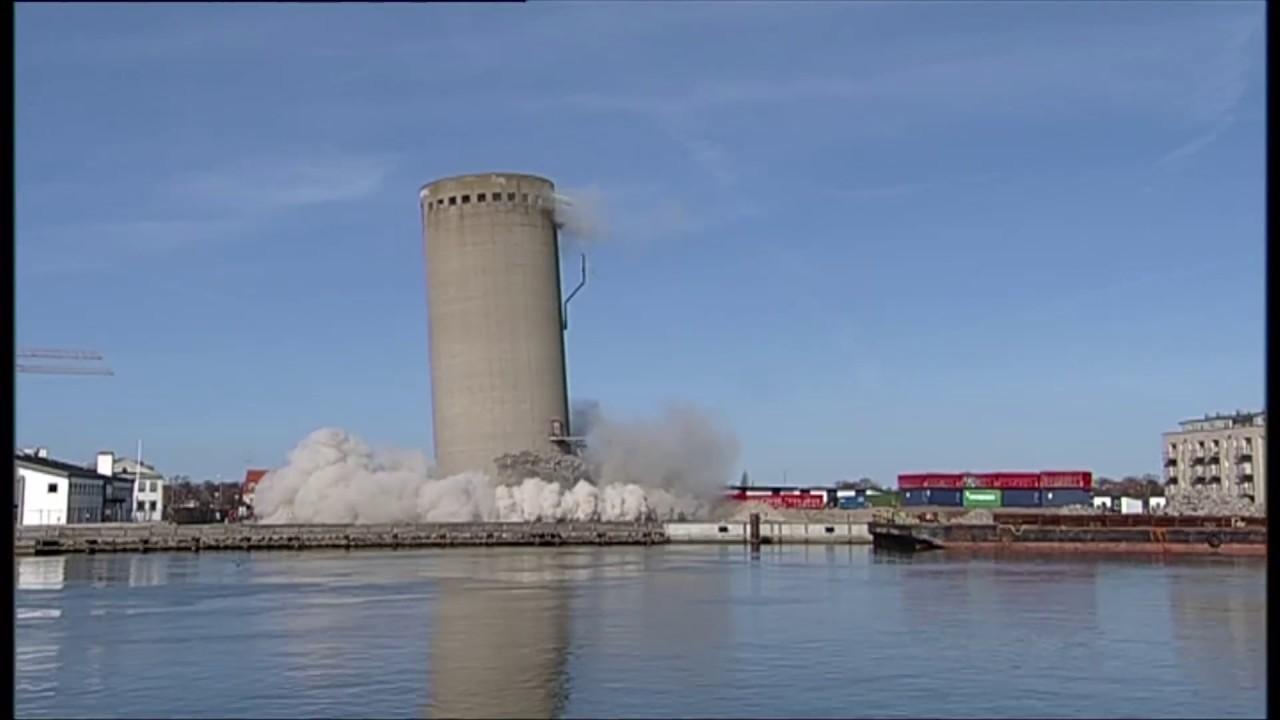 Natuke pahasti lõppenud silotorni õhkimine