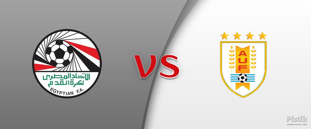 Uruguay võitis Egiptuse tulemusega 1 : 0