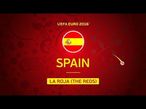Hispaania EURO2016 koondis
