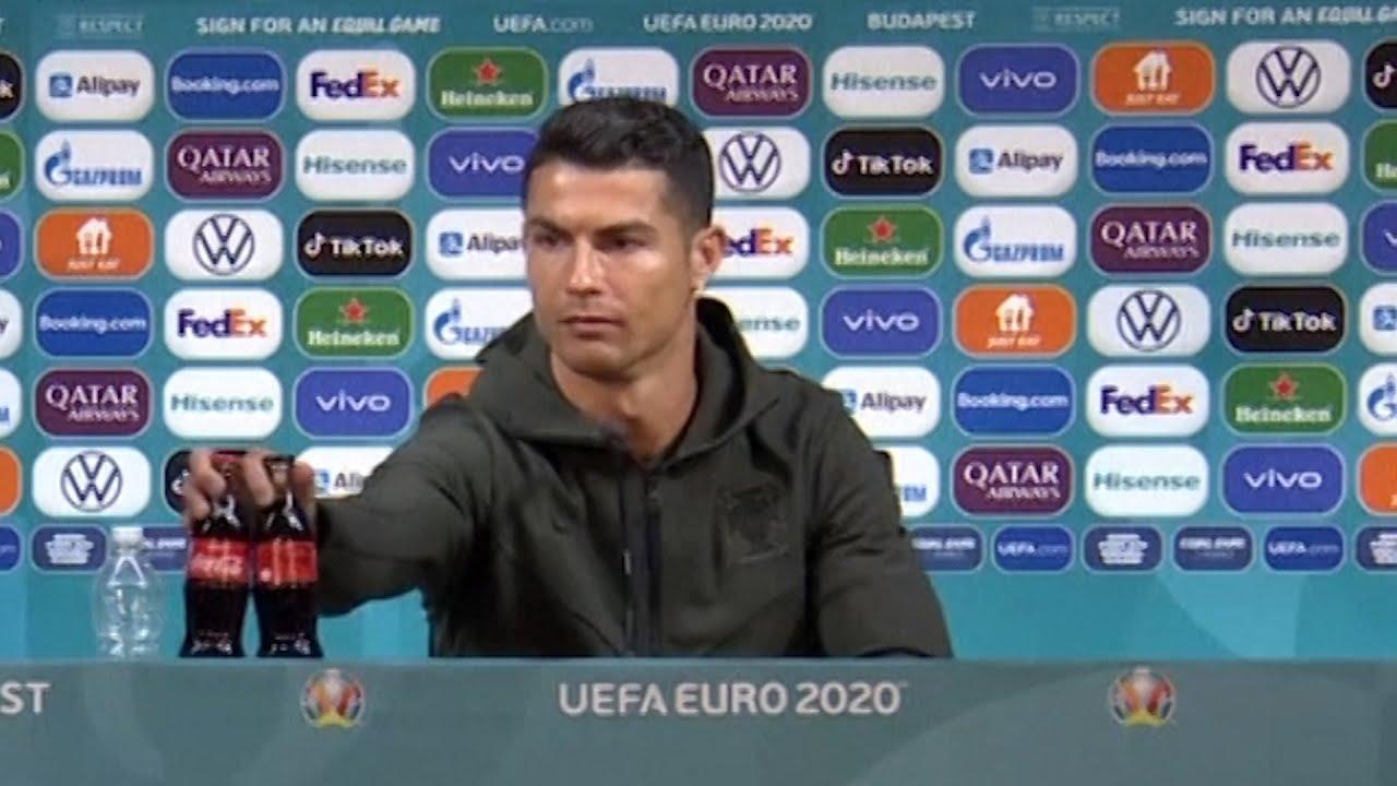 Vaata kuidas Cristiano Ronaldo soovitab kõigil vett juua