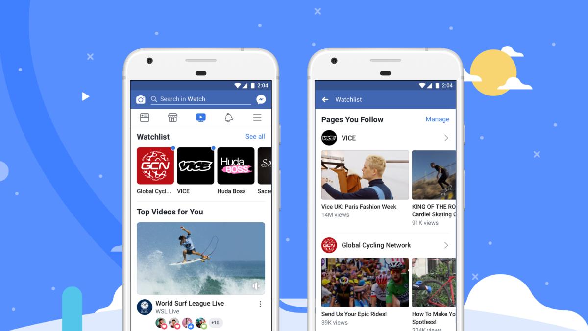 Facebook Watch - uus videokeskkond
