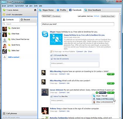 Uus Skype 5 väljas