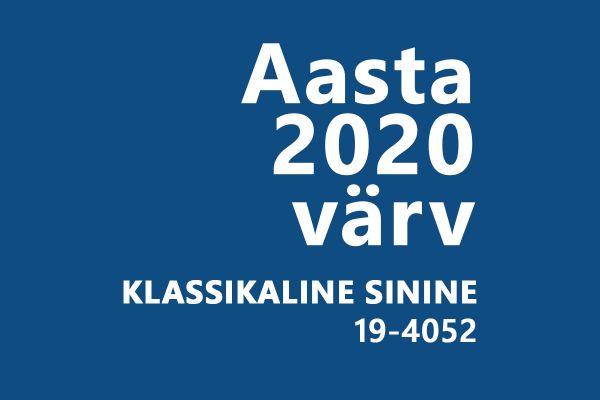 Aasta 2020 pantone värv -klassikaline sinine