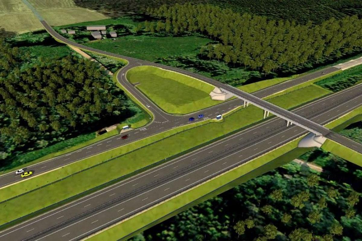 Algasid Võõbu-Mäo uue teelõigu ehitustööd
