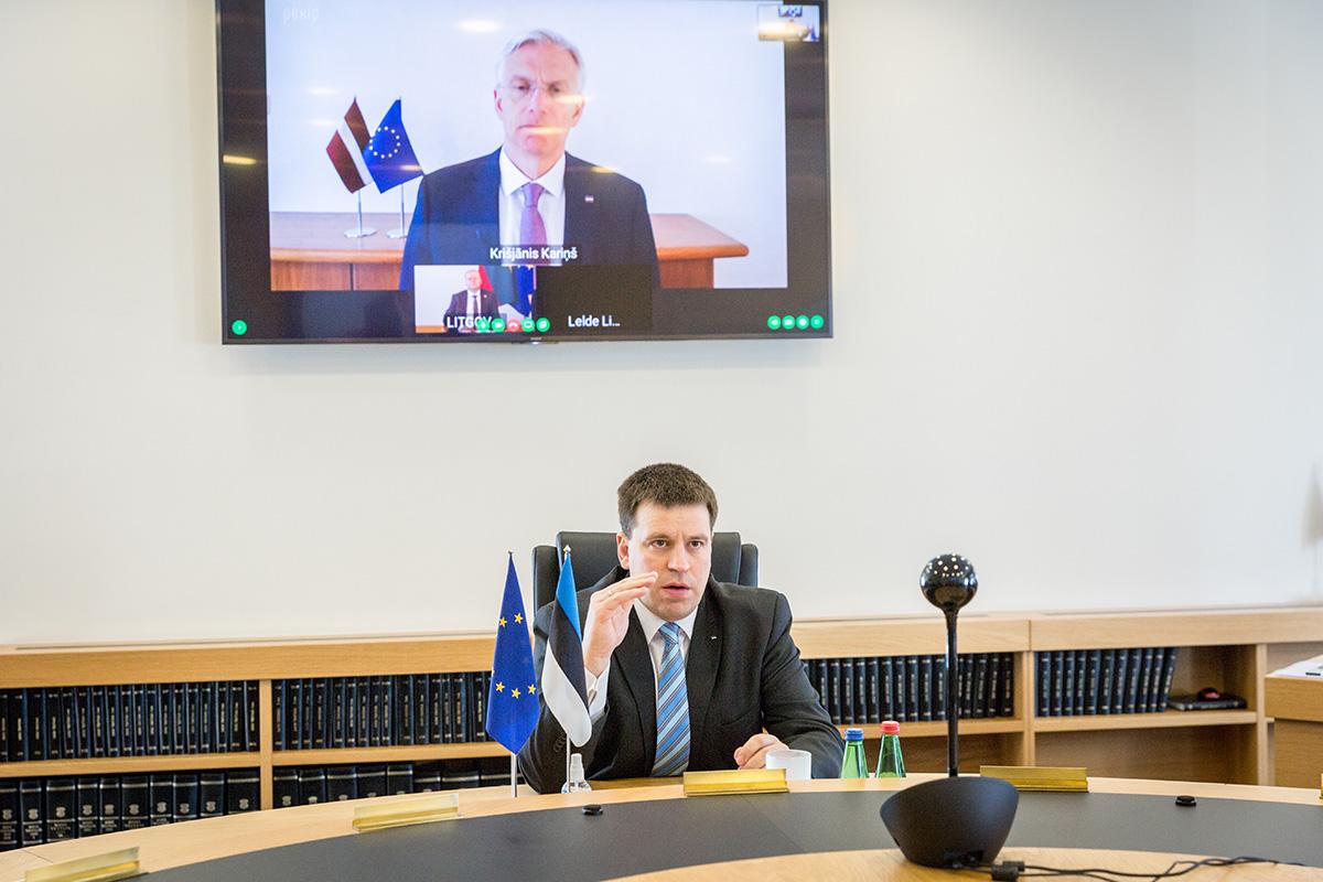 Balti peaministrid võtsid eesmärgiks avada piirid kolme riigi vahel 15. mail