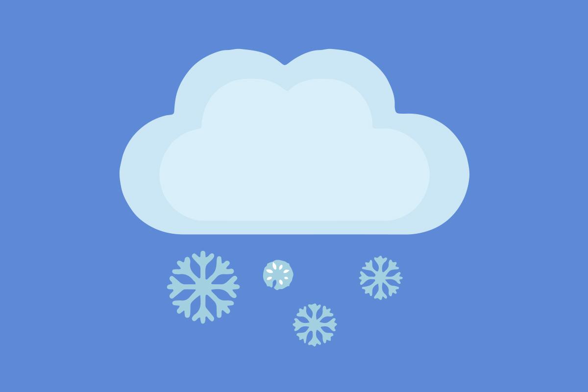 Täna, 18. jaanuaril on pilves selgimistega ilm