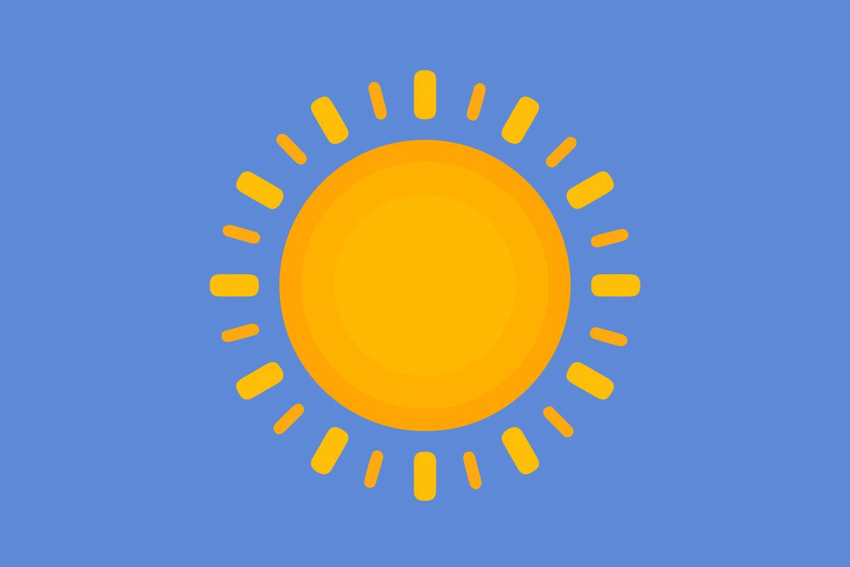 Täna, 27. juulil 2021 on Eestis selge ja vähese pilvisusega ilm