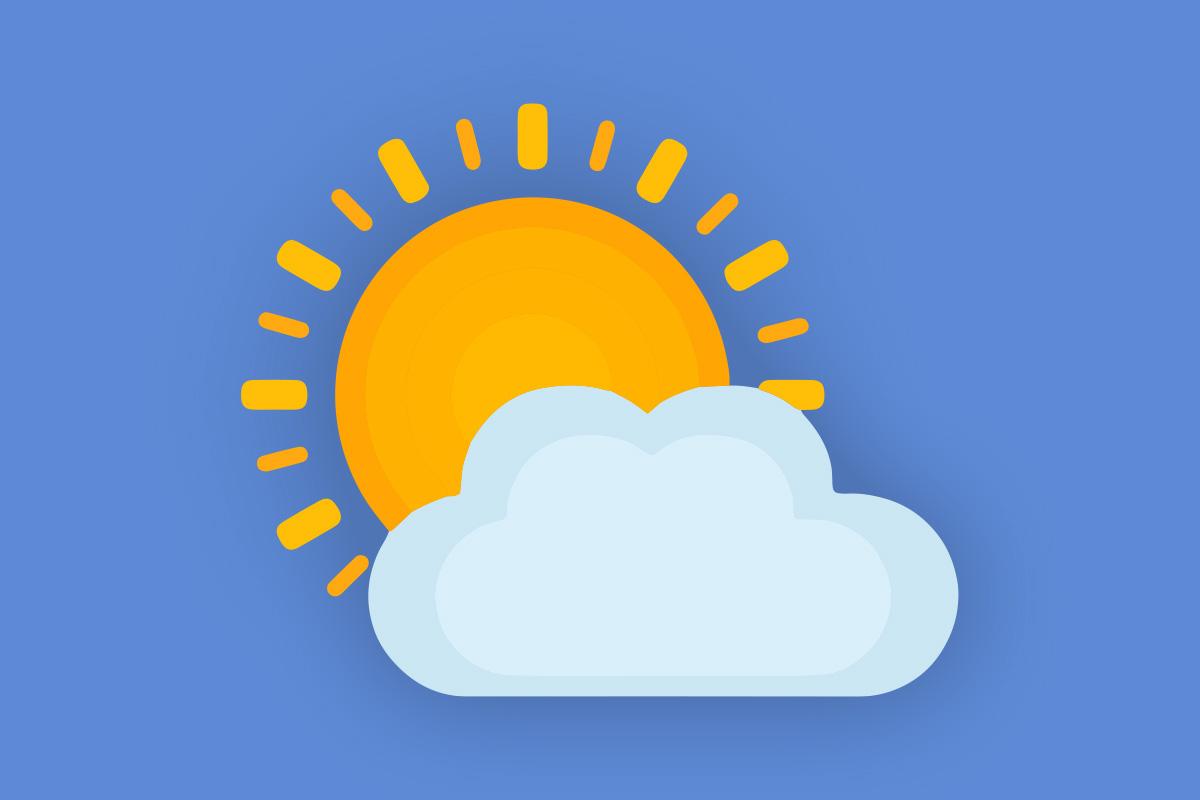 Täna, 5. oktoobril 2021 on Eestis pilves selgimistega ilm