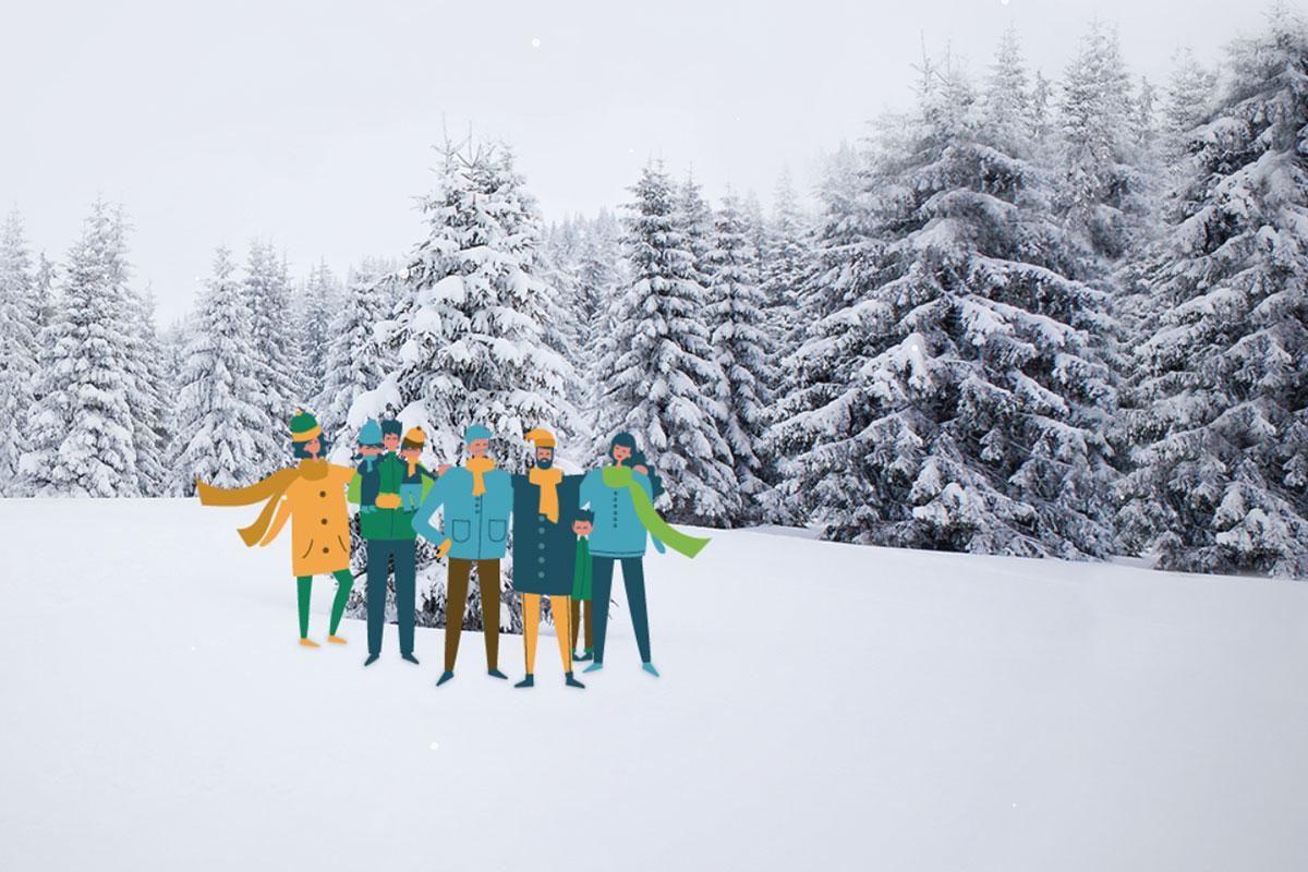 Jõulukuusk too ise metsast