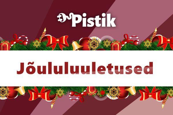 Jõululuuletused Pistiku suurest luulekogust ning luuletuste lisamise võimalus