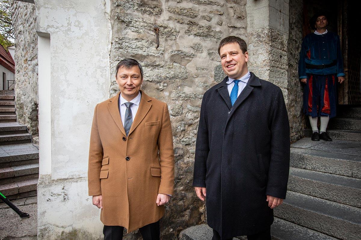 Peaminister Jüri Ratas ja linnapea Mihhail Kõlvart avasid Tallinna päeva (pildid)