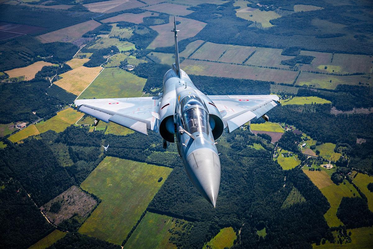 Prantsusmaa hävitajad lendavad homme üle Eesti linnade