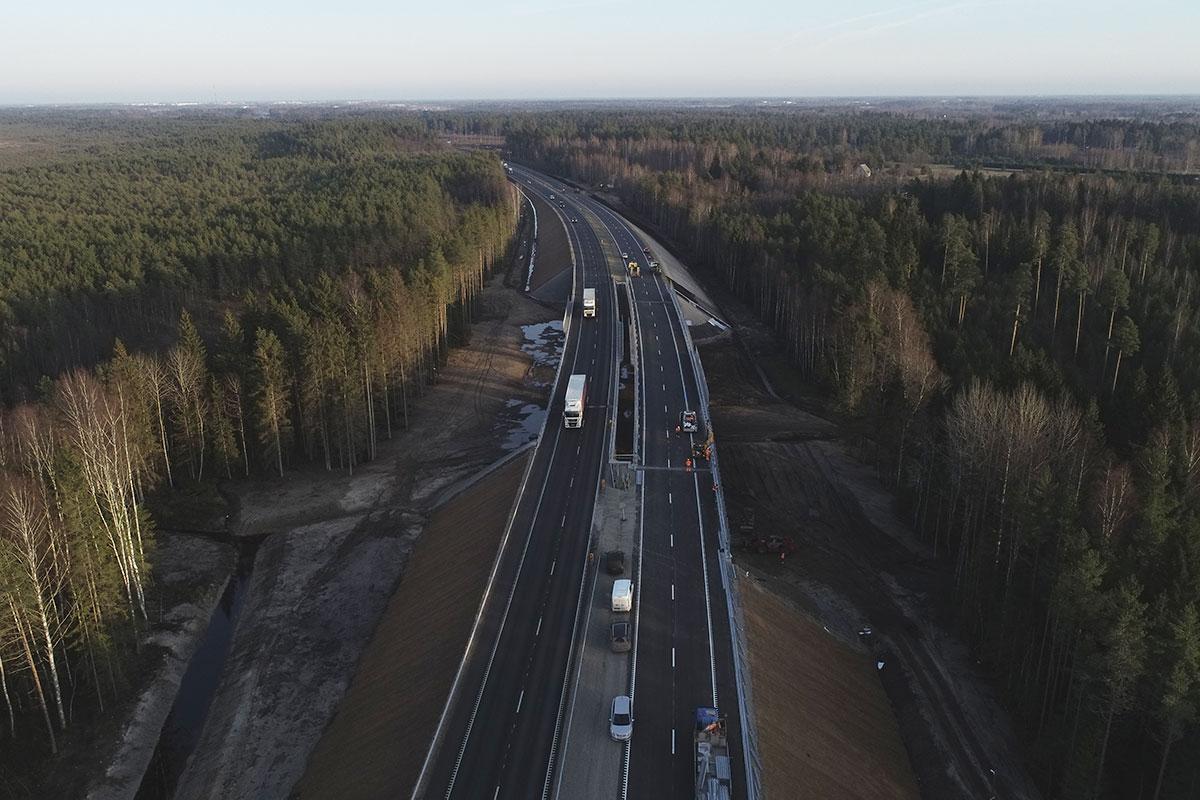 Täna avatakse liiklusele uus Saustinõmme viadukt