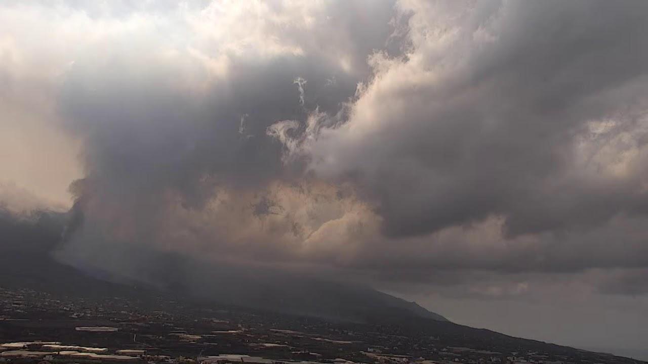 La Palma vulkaanipurske kaamera